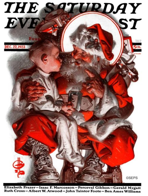 Cover Gallery Santa The Saturday Evening Post
