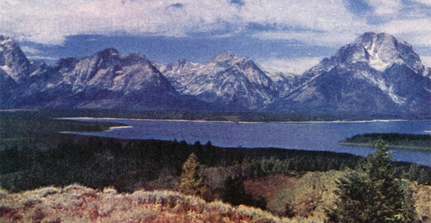 Grand Teton National Park, Wyoming (Photo by Ralph H. Anderson, © 1954 SEPS)Click here to view a gallery of national park photos from the archive.