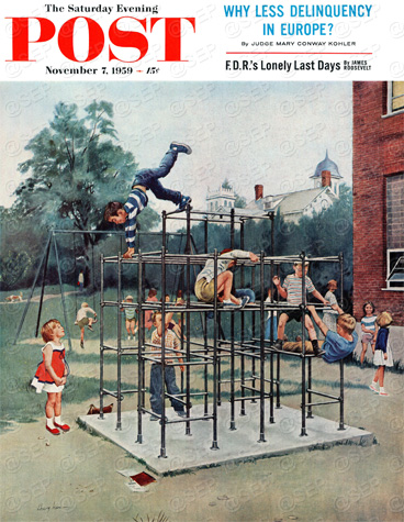 Jungle Gym by George Hughes  November 7, 1959