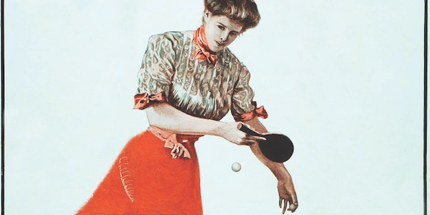 The 20th Century's First Big Craze: Ping-Pong