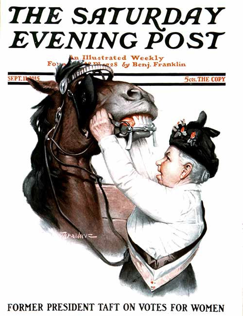 Bridling the Horse  September 11, 1915