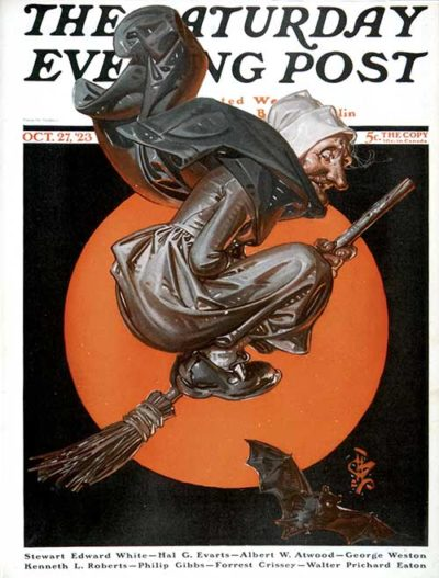 Witches Night Out by J.C. Leyendecker October 27, 1923