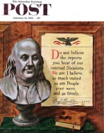 Benjamin Franklin - bust and quote