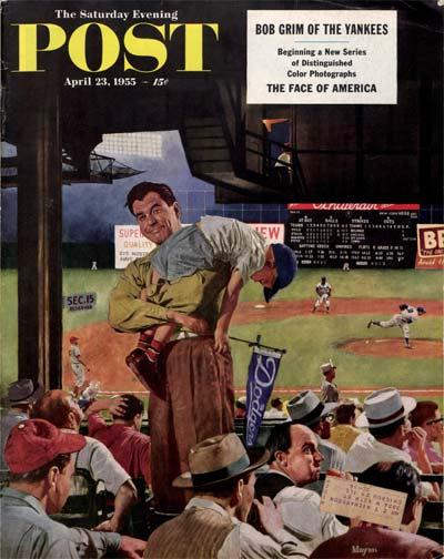 Sleepy Inning from April 23, 1955