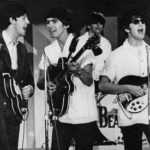 Paul, George, Ringo, and John rehearse for the Ed Sullivan show in Miami Beach. In Florida, the Beatles went yachting, swam in private pools, and visited heavyweight champ Cassius Clay. @SEPS 2013