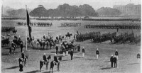 English Troops on Parade in Calcutta. June 20, 1914 © SEPS