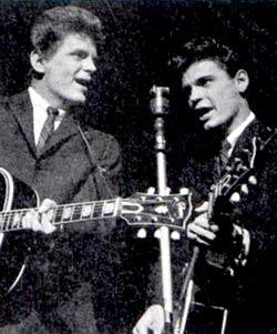 The Everly Brothers.