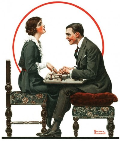 On the May 1st, 1920, Saturday Evening Post