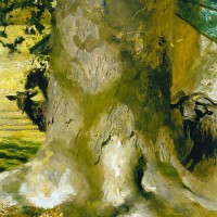 """Goat Tree"" Jamie Wyeth"