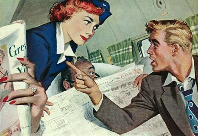 """The Passenger Hated Redheads""  From August 13, 1949"