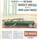 Hudson car ad in The Saturday Evening Post, 1954.