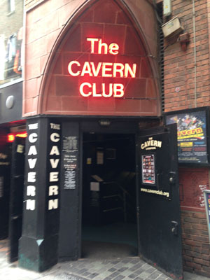 The Cavern Club was the center of the rock 'n' roll scene in Liverpool in the '60s. The club reopened in 1984 and remains open today where both cover and original bands perform.