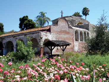 San Juan Capistrano Mission. Photo by Thomas Barrat.
