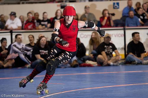 Naptown Roller Girls Roller Derby photo by Tom Klubens.