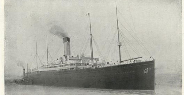 The RMS Republic was part of the White Star Line, the same company as the Titanic.