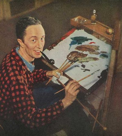 Norman Rockwell the Artist From February 13, 1943