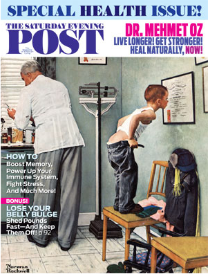 Cover of The Saturday Evenig Post Special Health Issue