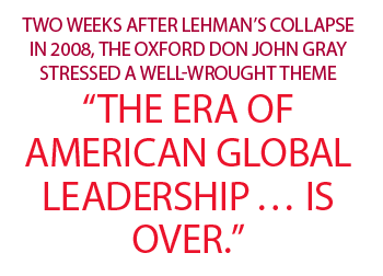 Era of Am Global Leadership graphic