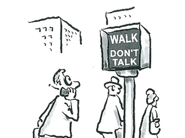Walk -- Don't Talk