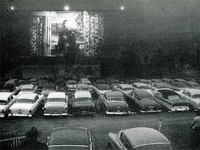 Chicago's Starlite Drive-in circa 1950's.