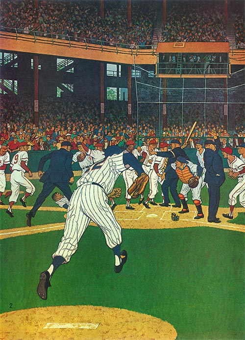 Baseball Fight  (PART 2) by James Williamson