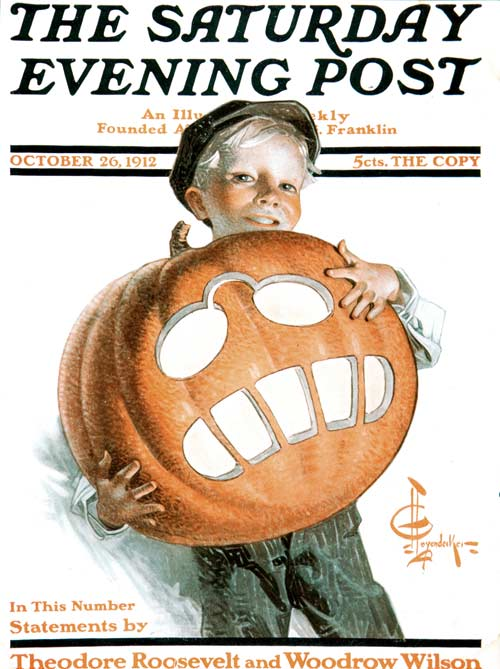 Teddy the Pumpkin by J.C. Leyendecker