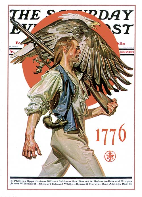 J.C. Leyendecker Minute Man 1929