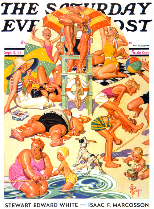 J.C. LeyendeckerKing of the BeachSeptember 3, 1932
