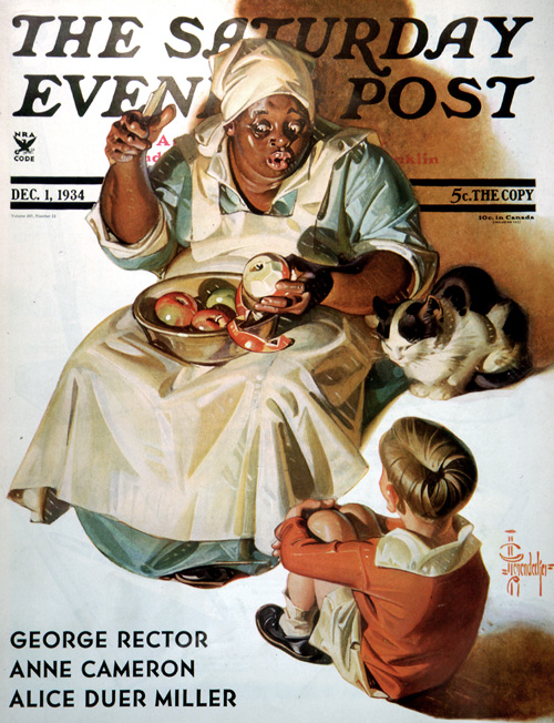 Cooking Up a StoryJ. C. LeyendeckerDecember 1, 1934