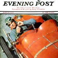 Ivan Dimitri 1937 Saturday Evening Post cover