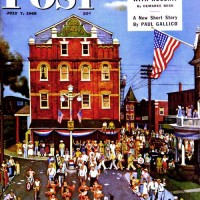 John Falter Independence Parade 1945