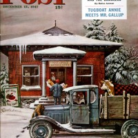Rural Post Office at ChristmasSteven DohanosDecember 13, 1947