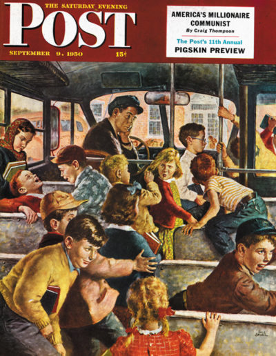 <em>Rowdy Bus Ride</em><br />Amos Sewell<br />September 9, 1950