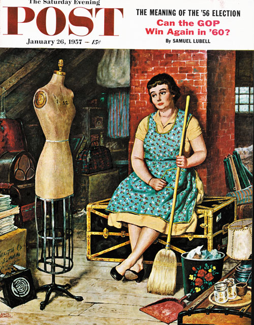 Former Figure by Amos Sewell, January 26, 1957