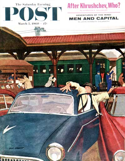 Cramped Parking by Richard Sargent from March 5, 1960