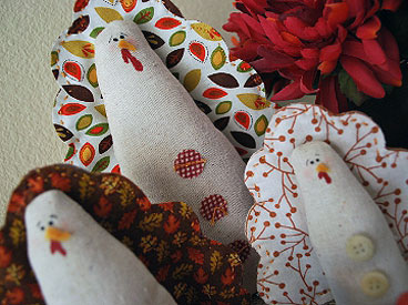 Easy-Sew Turkeys for Thanksgiving