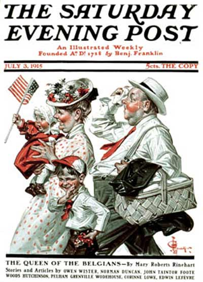 """Fourth of July Picnic"" from July 3, 1915"