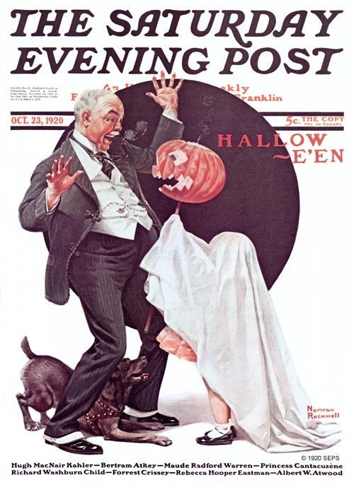 Halloween by Norman Rockwell