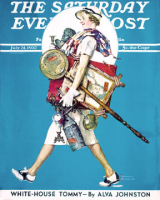July 31, 1937 – Found Treasure – Norman Rockwell