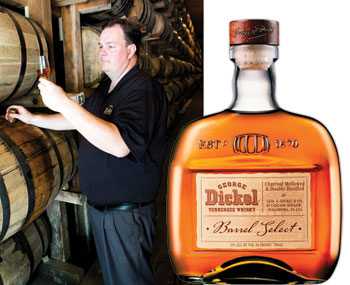 John Lunn in the George Dickel Whiskey distillery