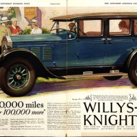 1927 Willys-Knight Ad