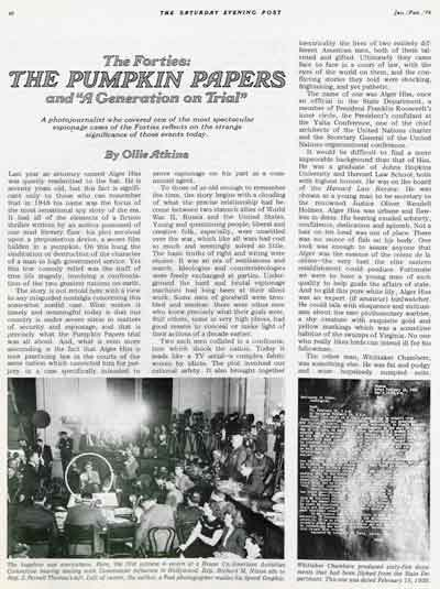 The Pumpkin Papers<br />by Ollie Atkins<br />Jan/Feb. 1976