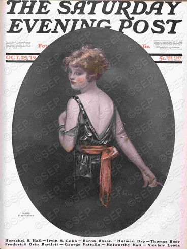 Saturday Evening Post Cover May 32, 2938