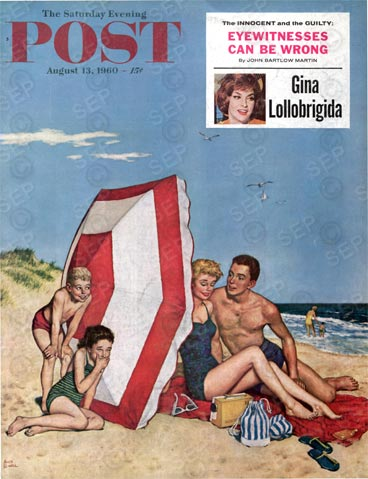 Saturday Evening Post Cover from 8-13-1960