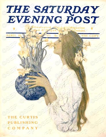 Saturday Evening Post cover April 27, 1907