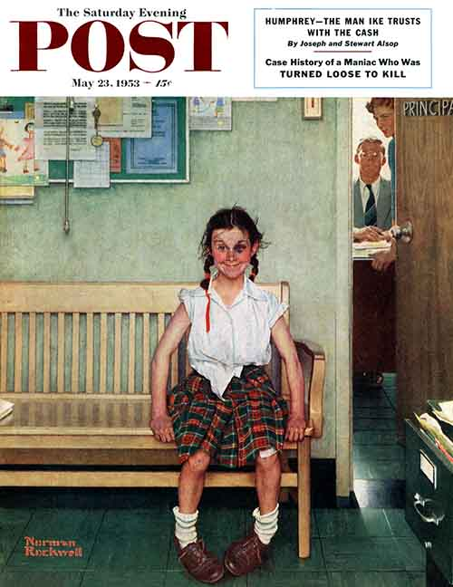 Shiner by Norman Rockwell