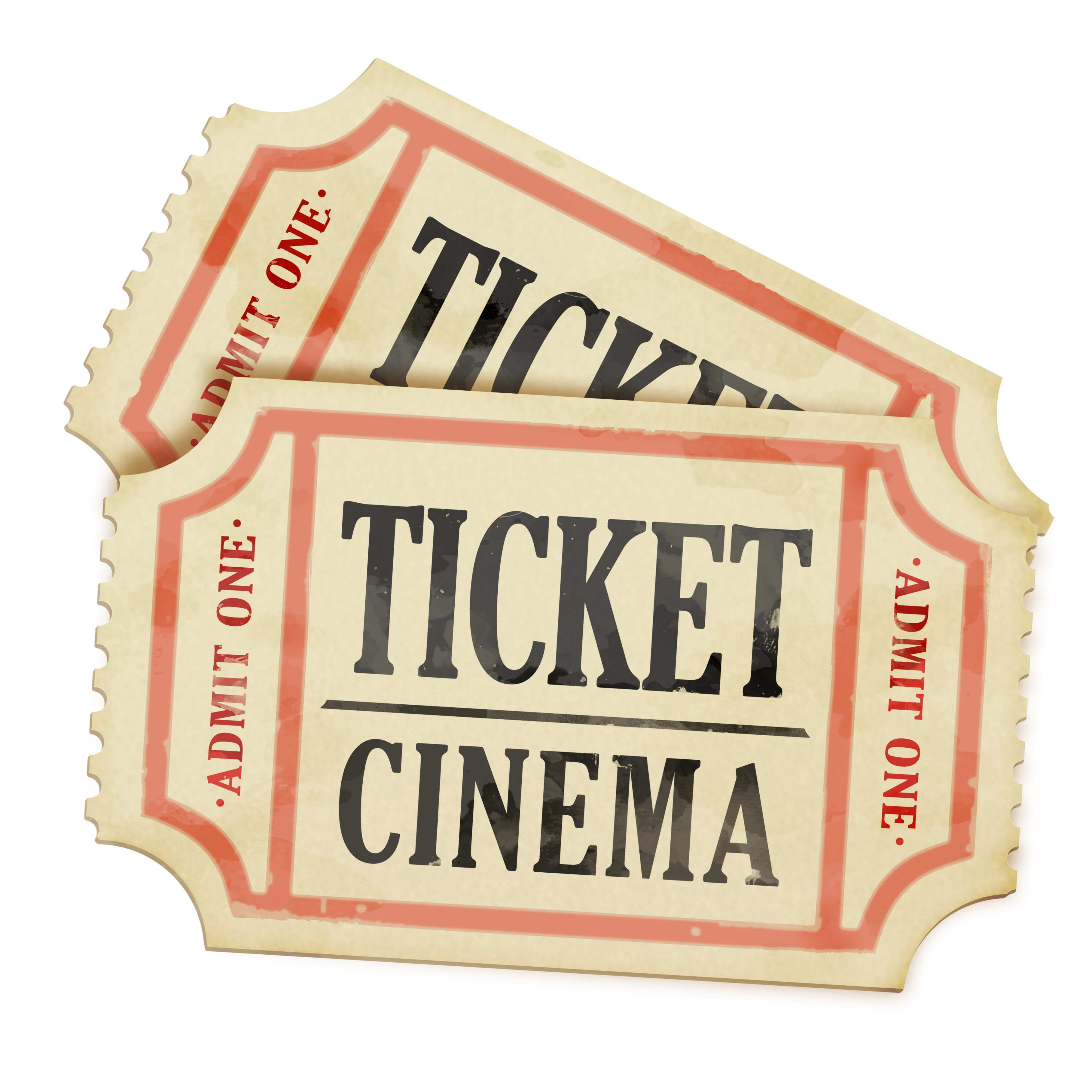 Movie tickets. Photo credit: Shutterstock.com