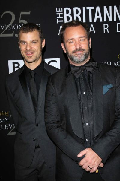 South Park creators, Matt Stone and Trey Parker. s_bukley / Shutterstock.com