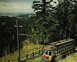 Portland, Oregon, trolley.