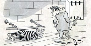 Cartoons:  Jailhouse Jokes